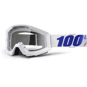 100% Strata goggles wit